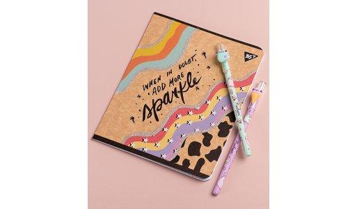 Зошити крафт та нові дизайнерські ручки від YES!