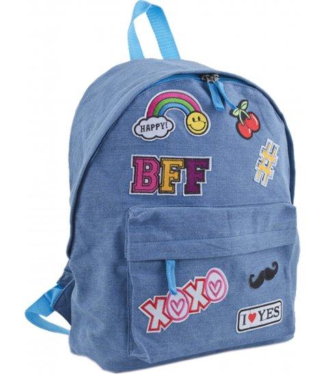 Рюкзак для підлітків YES  ST-15 Jeans ХОХО, 30*36*12
