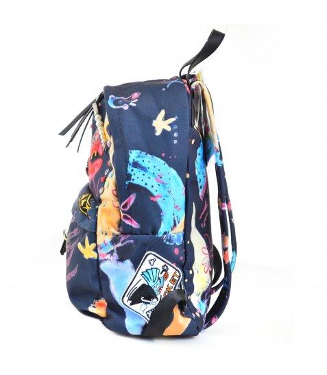 Сумка-рюкзак YES, темно-синій
