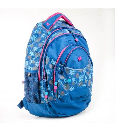 """Рюкзак для підлітків YES  Т-12 """"Forget-me-nots"""", 46,5*33*15см - фото 1 з 8"""
