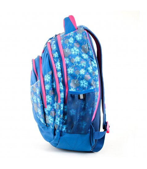 """Рюкзак для підлітків YES  Т-12 """"Forget-me-nots"""", 46,5*33*15см - фото 6 з 8"""