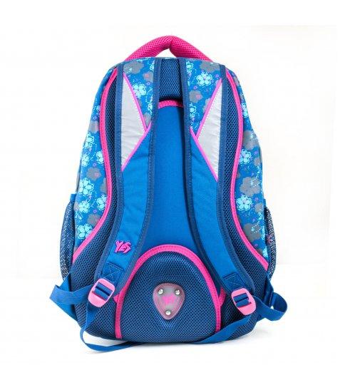 """Рюкзак для підлітків YES  Т-12 """"Forget-me-nots"""", 46,5*33*15см - фото 7 з 8"""