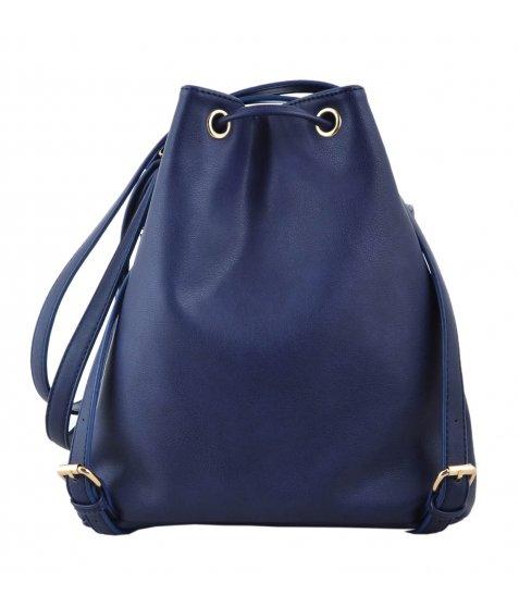 Сумка- рюкзак YES, темно-синій, 30*27*15.5