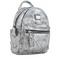 Сумка-рюкзак  YES, темно-сірий, 17*20*8см