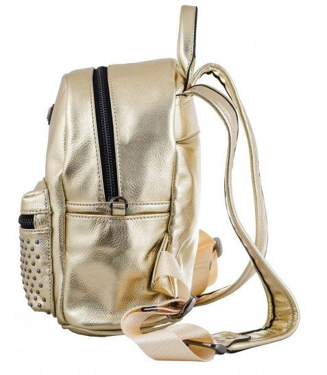 Сумка-рюкзак  YES, золотий, 19.5*25*11см