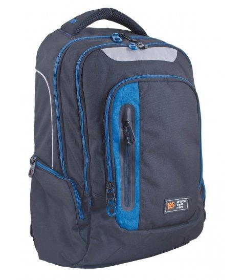 Рюкзак для підлітків YES  Т-22 With blue, 48*32*10 - фото 1 з 5