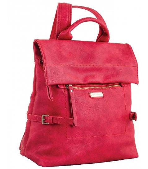 Сумка-рюкзак  YES, червона, 29*33*15см