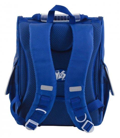 Рюкзак шкільний каркасний  YES  H-11 Oxford blue, 34*26*14