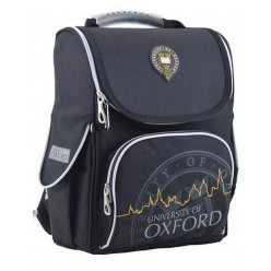 Рюкзак шкільний каркасний  YES  H-11 Oxford black, 34*26*14