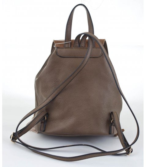 Сумка-рюкзак  YES, коричневий з бахромою, 25*21.5*21 - фото 3 з 5
