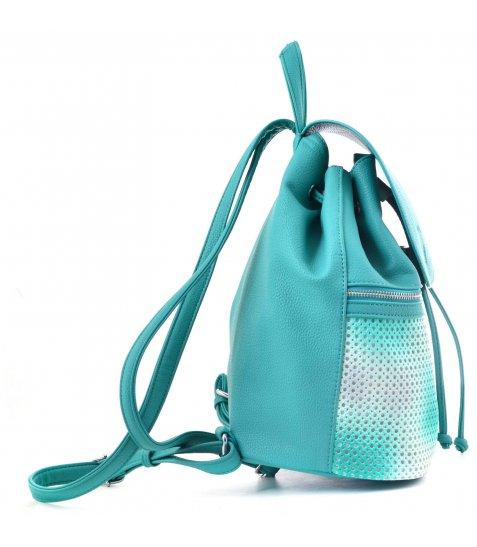 Сумка-рюкзак  YES, зелений, 29*25*17