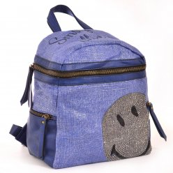 Сумка-рюкзак YES, синій