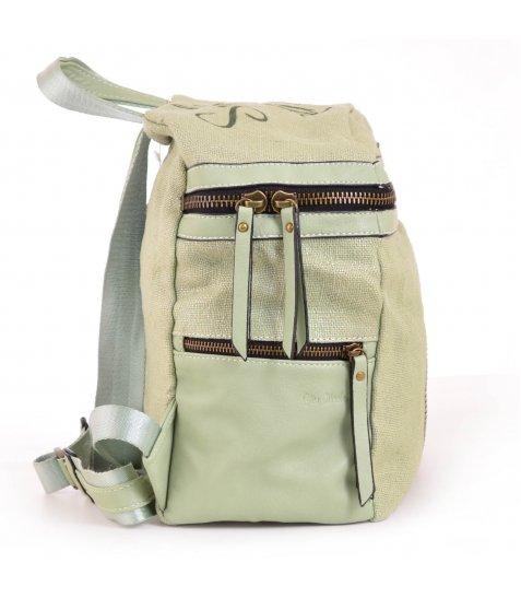 Сумка-рюкзак YES, зелений