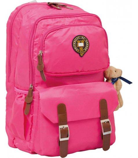 """Рюкзак для підлітків YES  Х163 """"Oxford"""", рожевий, 47*29*16см"""