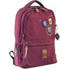 Рюкзак для підлітків YES  OX 194, бордовий, 28.5*44.5*13.5