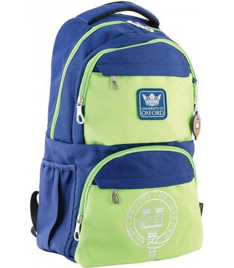 Рюкзак для підлітків YES  OX 233, синьо-зелений, 31*46*17 - фото 1 з 4