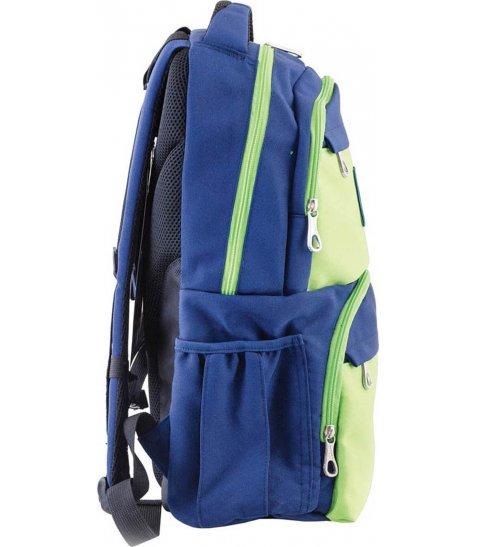 Рюкзак для підлітків YES  OX 233, синьо-зелений, 31*46*17 - фото 2 з 4