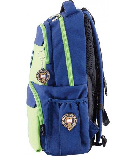 Рюкзак для підлітків YES  OX 233, синьо-зелений, 31*46*17 - фото 3 з 4