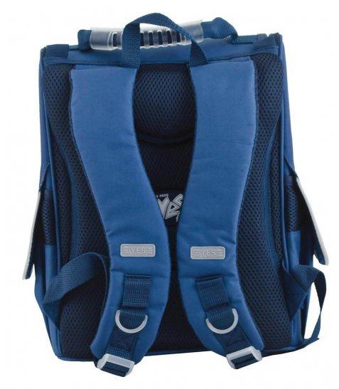 Рюкзак шкільний каркасний  YES  H-11 Cambridge blue, 34*26*14