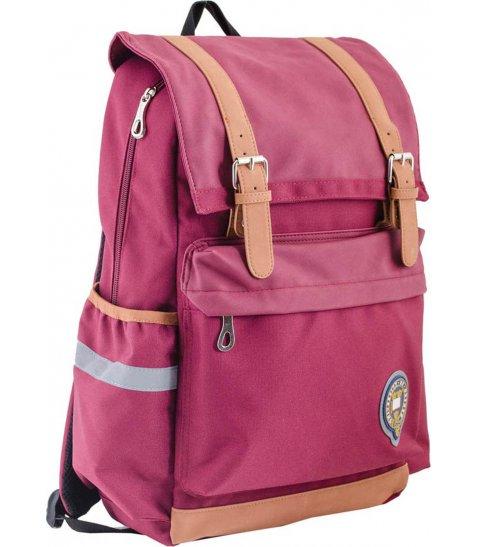 Рюкзак для підлітків YES  OX 301, бордовий, 28*42*13