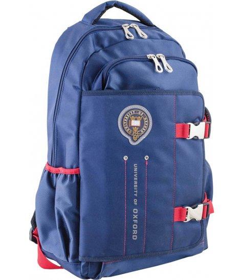 Рюкзак для підлітків YES  OX 302, синій, 30*47*14.5 - фото 1 з 8
