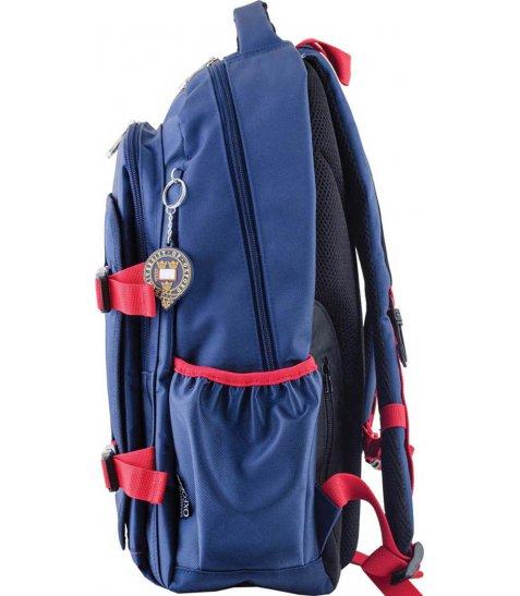 Рюкзак для підлітків YES  OX 302, синій, 30*47*14.5 - фото 6 з 8