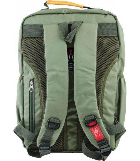 Рюкзак для підлітків YES  CA 076, зелений, 29*43*12