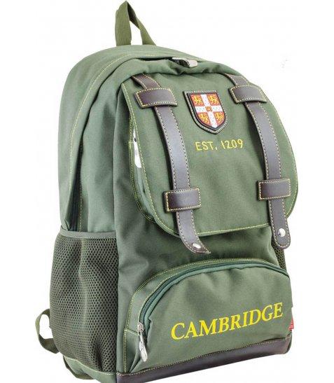 Рюкзак для підлітків YES  CA 080, зелений, 31*47*17 - фото 1 з 8
