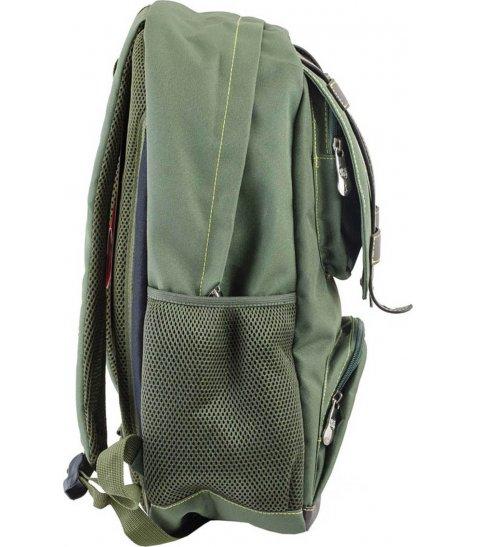 Рюкзак для підлітків YES  CA 080, зелений, 31*47*17 - фото 2 з 8
