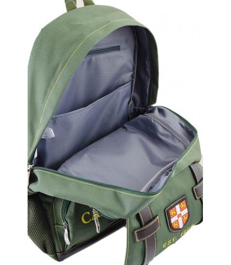 Рюкзак для підлітків YES  CA 080, зелений, 31*47*17 - фото 8 з 8