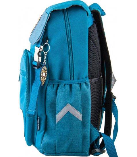 Рюкзак для підлітків YES  OX 283, бірюзовий, 28*39*14.5
