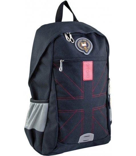 Рюкзак для підлітків YES  OX 316, чорний, 46.5*30.5*15.5 - фото 1 з 6