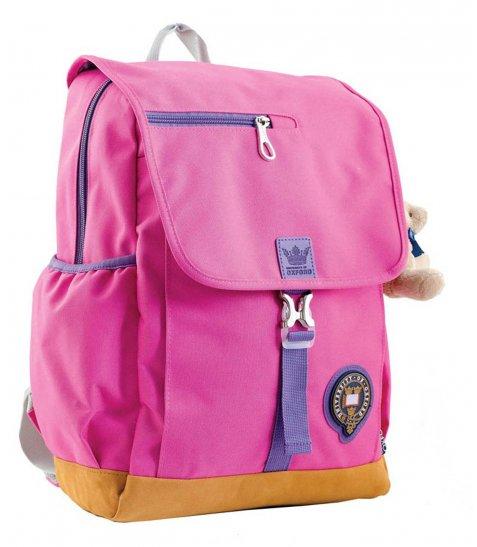 Рюкзак для підлітків YES  OX 318, рожевий, 26*35*13 - фото 1 з 5