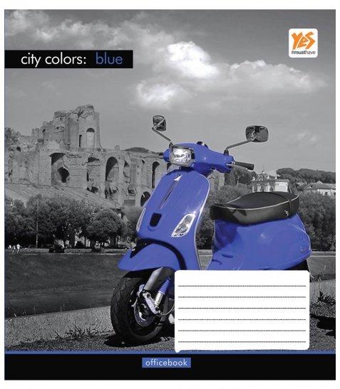 А5 / 48 кл. YES гібрид з 2-м вибірками City colors-17, зошит