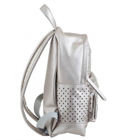 Сумка-рюкзак  YES, срібло, 23.5*33*11см