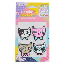 """Набір наклейок YES Leather stikers """"Cats"""""""