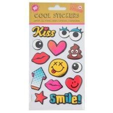 "Set of decorative stickers, ""POP Art 2"", 100*150mm"