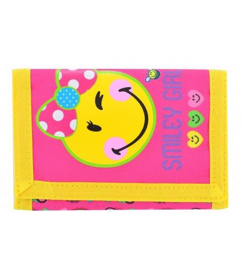 Гаманець YES Smiley girl, 25*12.5