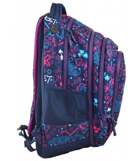 Рюкзак молодіжний YES  2в1 Т-40 Sweet, 49*32*15.5