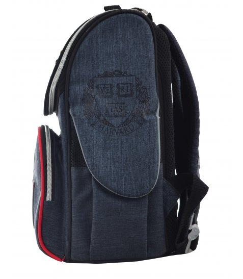 Рюкзак шкільний каркасний  YES  H-11 Harvard, 33.5*26*13.5