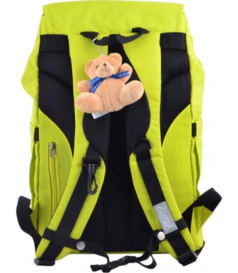 Рюкзак молодіжний YES  OX 414, 43.5*31*16, салатовий
