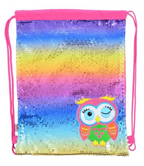 Сумка-мішок YES  DB-11 Owl, 45*35