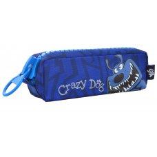 Пенал м'ягкий  YES  Crazy dog, 20*6*7