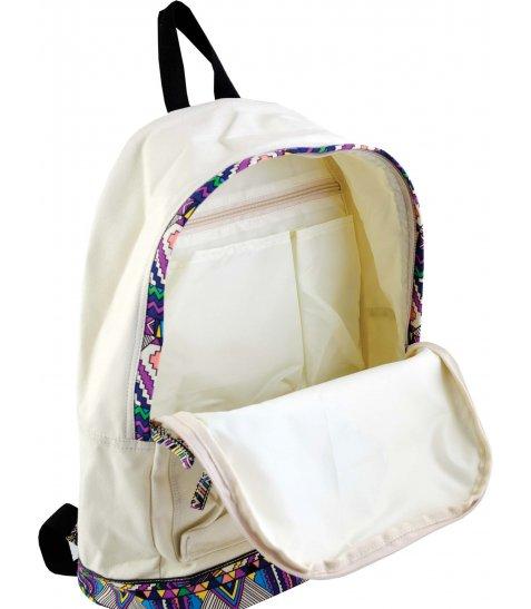 Рюкзак для підлітків YES  ST-33 Ethiopia beige, 40.5*27.5*16