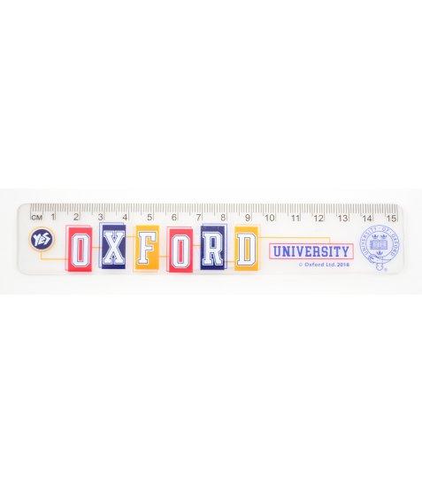 """Лінійка 15 см """"Oxford"""""""