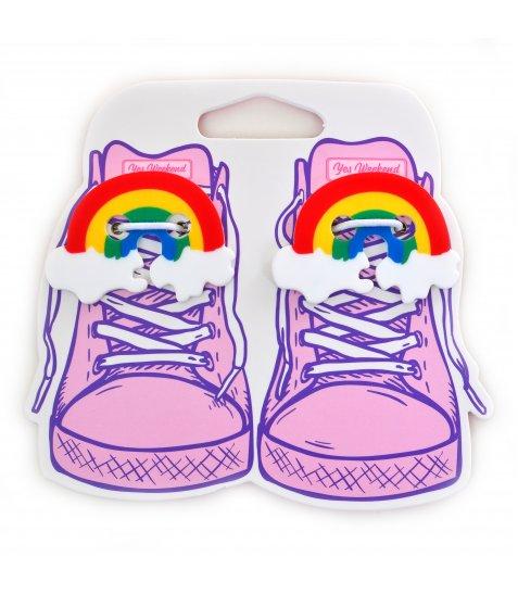 """Набір аксесуаіов для шнурків YES  """"Rainbow"""""""
