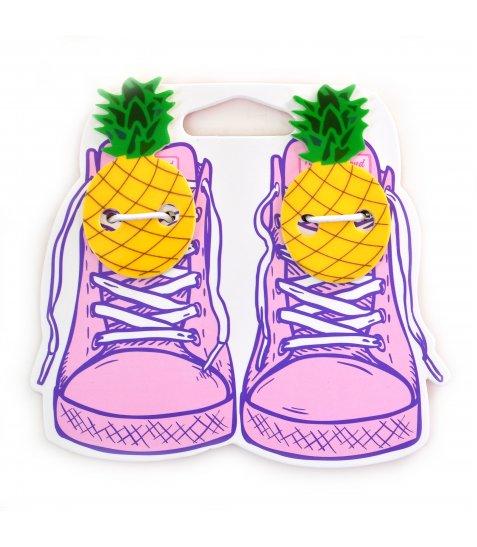 """Набір аксесуаіов для шнурків YES  """"Pineapple"""""""
