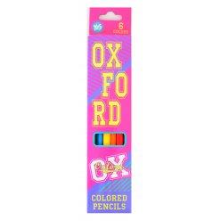 "Олівці 6 кол. ""Oxford""(pink)"