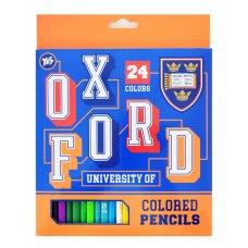 """Олівці 24 кол. """"Oxford""""(blue)"""