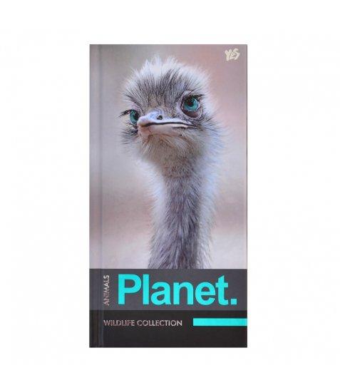 "Блокнот 100 * 200/64 7БЦ, фольга сер., пантон, УФ вибірка, мат.ламін. ""Animals planet"" YE"